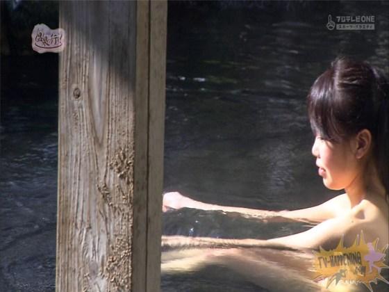 【お宝エロ画像】最近エロいと評判の「もっと温泉に行こう!」バスタオルなしで女の全裸入浴見放題ww 22