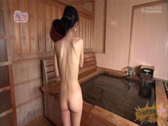 【お宝エロ画像】最近エロいと評判の「もっと温泉に行こう!」バスタオルなしで女の全裸入浴見放題ww 45