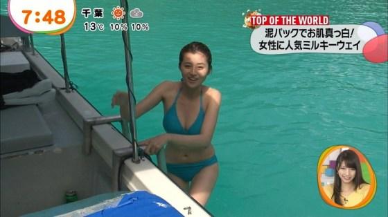 【放送事故画像】爆乳美女達が水着でそのオッパイをこれでもかと言うくらいに見せつけてるww 02