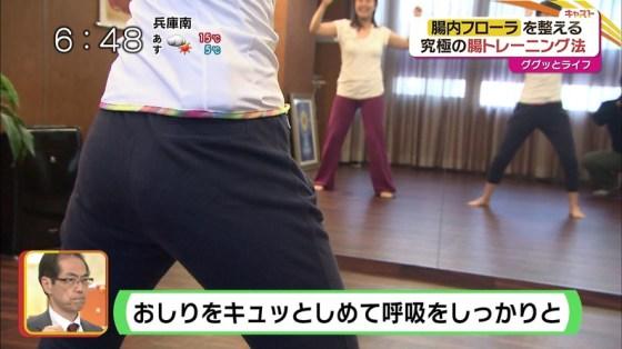 【放送事故画像】女子アナのピタパンお尻を見てたら勃起が収まらなくなってどぉしようもない件w 19