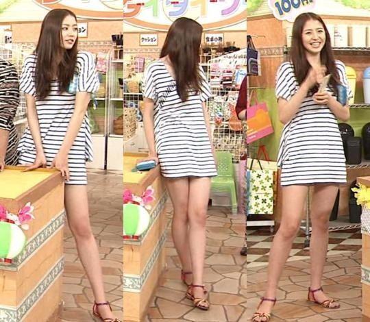 【放送事故画像】テレビに出てる女の子の脚ってなんでこんなにきれいでエロいんだ?w 13
