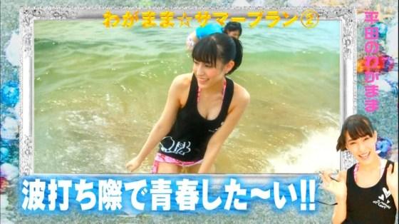 【放送事故画像】最近の水着とか下着ってオッパイ隠す着ないよなwそんな格好でテレビに出たらww