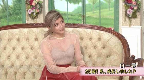 【放送事故画像】ローラ、シースルーから乳首が透けるハプニング!それでもOKwww(2016/4/5!画像大量追加!) 41