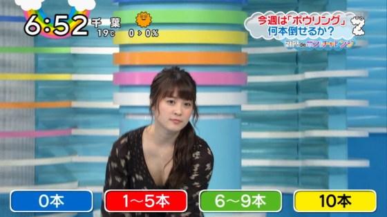 【放送事故画像】テレビで張り切って大胆に胸元空けすぎw乳首まであと数センチ! 16