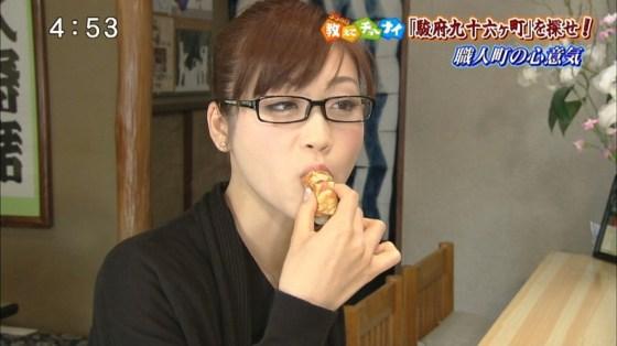 【擬似フェラ画像】エロい食べ方で視聴者を魅了するタレント達!この表情にも注目www 21