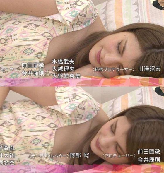 【寝顔キャプ画像】マジで襲いたくなるような可愛い寝顔のアイドル達!! 21