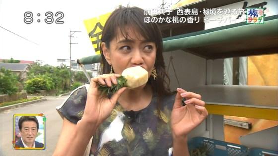 【擬似フェラキャプ画像】食レポするタレント達の卑猥な顔をカメラは見逃さなかったw 12