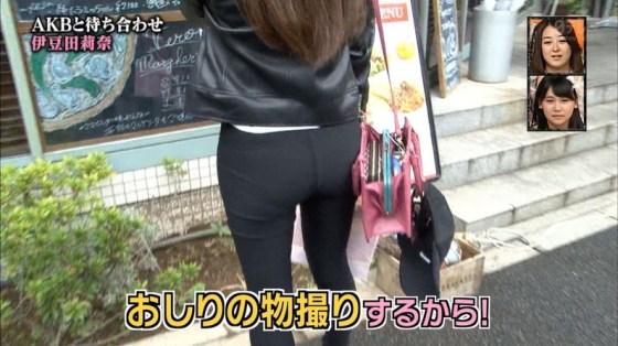 【お尻キャプ画像】キュッと食い込んだズボンからパンツラインまで見えちゃってる女子アナ達 07