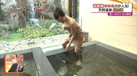 【入浴キャプ画像】芸能人の入浴シーンでバスタオルから見える谷間みて興奮しないやついるの?ww 19