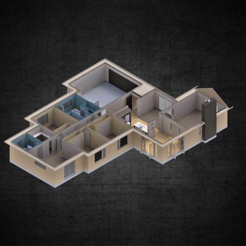 Medium Of 4 Bedroom House