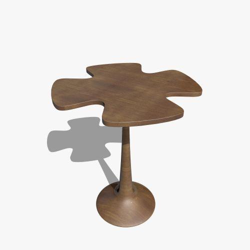 Medium Of Wood Side Table