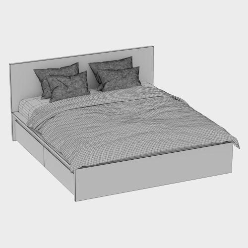 Christmas Bed Malm Ikea Model Max Obj Fbx Mtl Bed Malm Ikea Model Cgtrader Malm Ikea Bed Set Malm Ikea Bed Hack