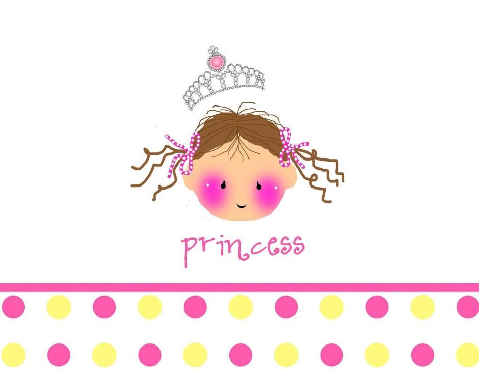 Princess card, Custom per...