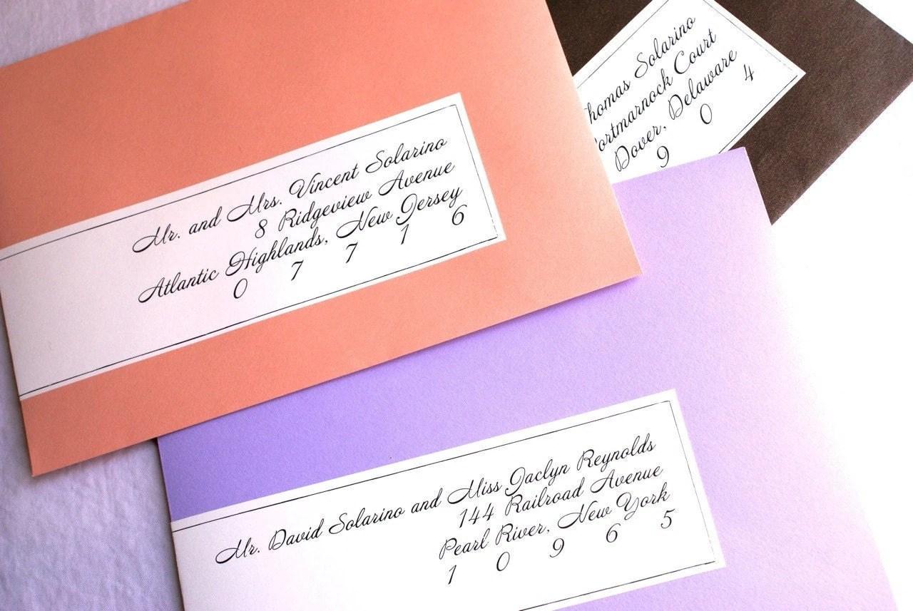 address labels vs poor handwriting handwritten wedding invitations Poor Handwriting