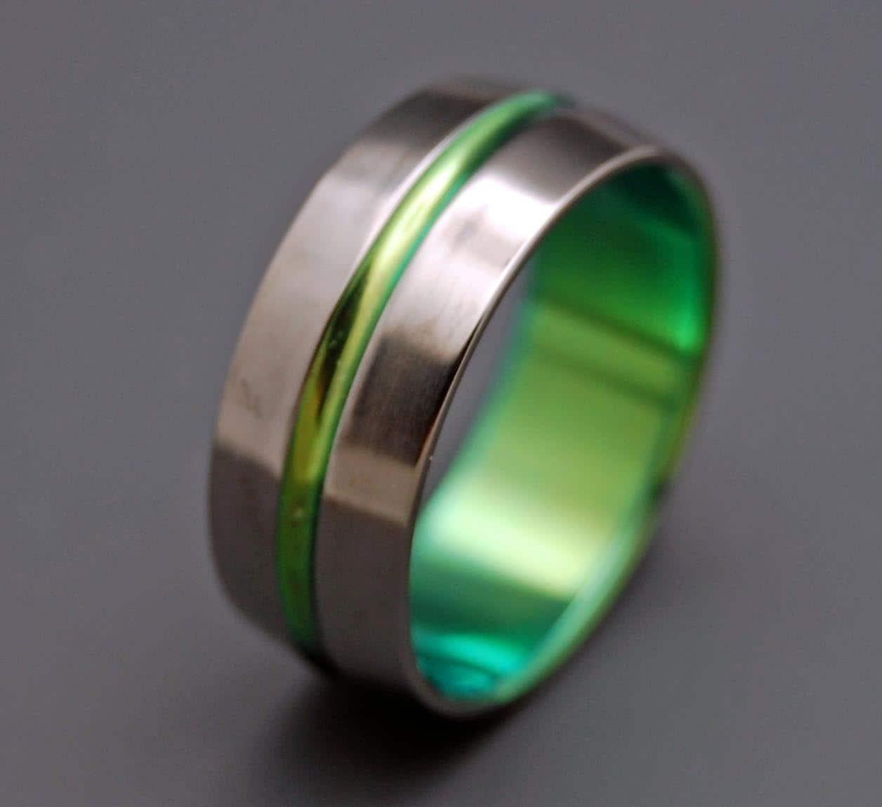 mens titanium ring mens titanium wedding rings Titanium wedding ring wedding ring titaniun rings mens ring womens rings eco friendly INSPIRED BY GREEN