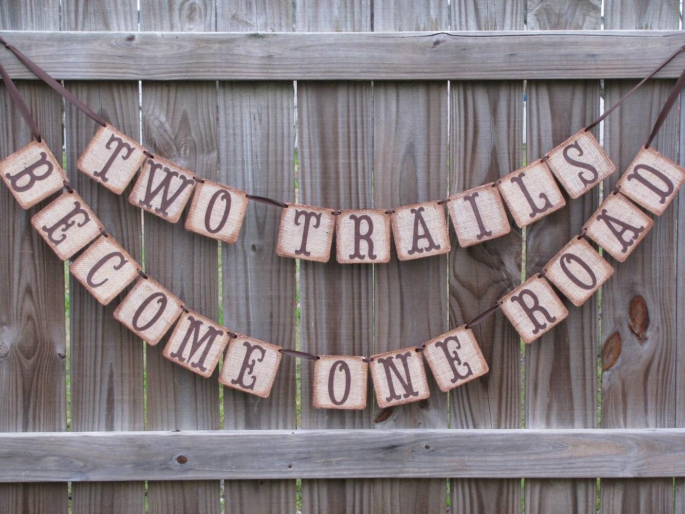 trail runner burlap wedding ideas Wedding Garland Burlap Wedding Banner Burlap Wedding Ideas Burlap Engagement Party Decor Rustic Barn Wedding Ideas Country Wedding