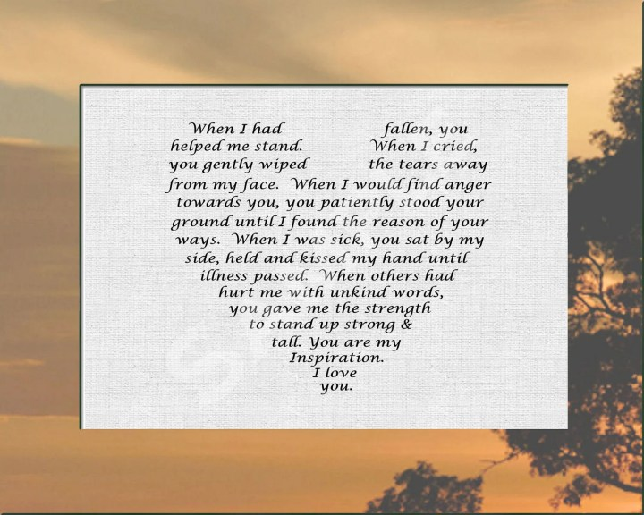 ... Poems . Inspirational Letter To My Daughter. View Original . [Updated