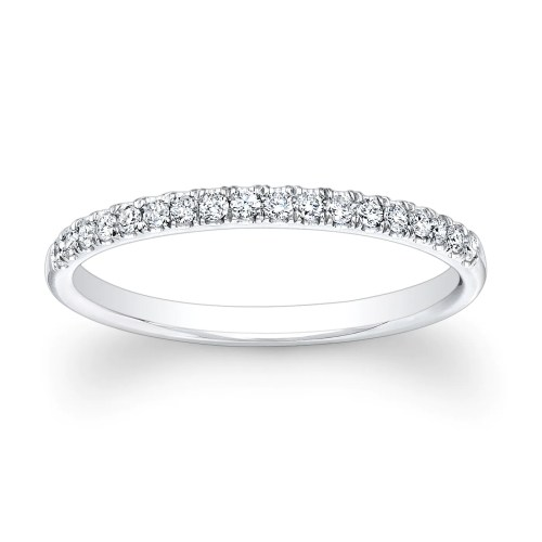 women 14kt white gold diamond wedding womens diamond wedding bands zoom