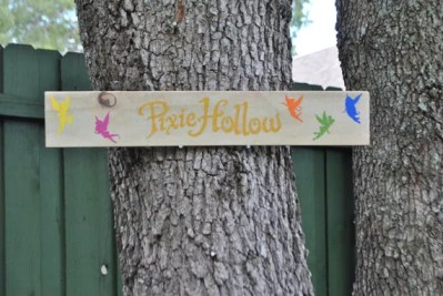 Tinker Bell Pixie Hollow Outdoor Yard Sign