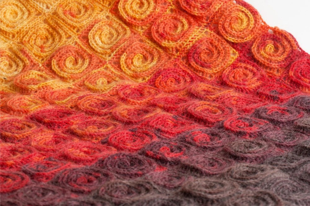 Crochet Pattern Fire Blanket