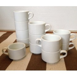 Small Crop Of Plain White Tea Cup