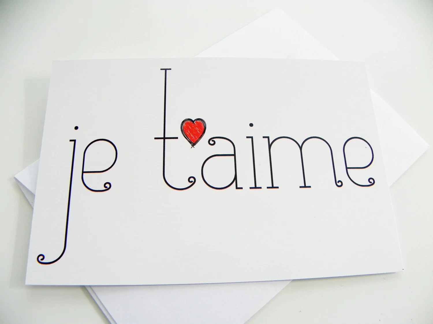 I Adore You In French 20 Amazing Picture of ...