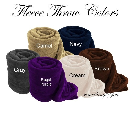 Medium Of Personalized Fleece Blankets