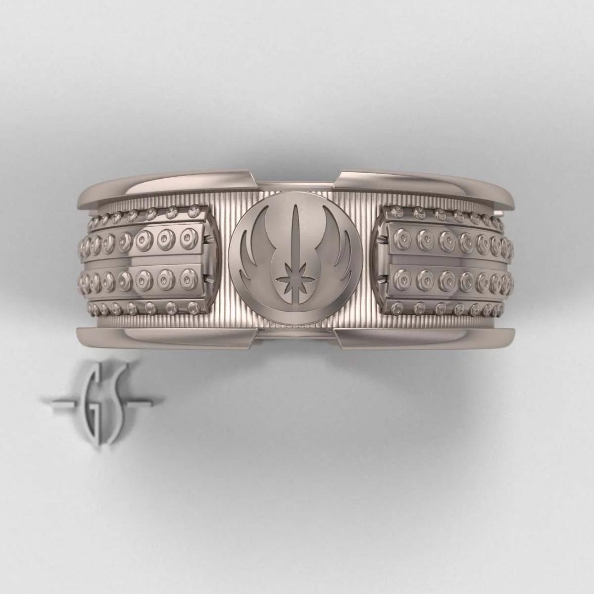 star wars lightsaber ring mens star wars wedding rings zoom