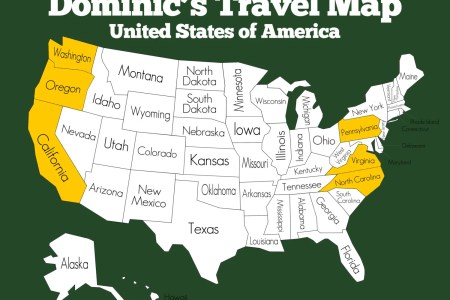 travel map of the united states linen background custom