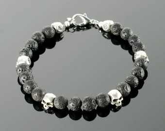 Image result for skull bracelet