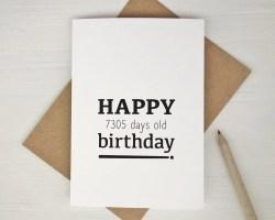 Small Of 20th Birthday Ideas