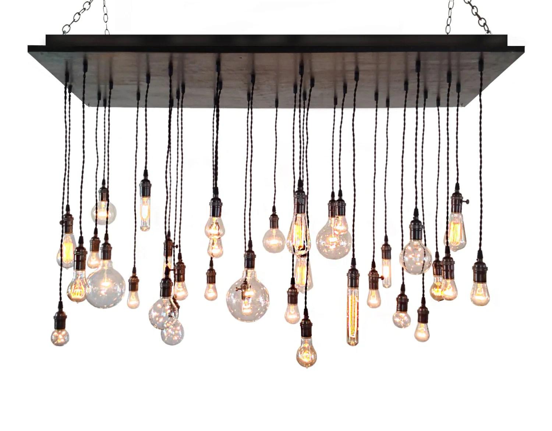 industrial chandelier rustic lighting industrial kitchen light fixtures zoom