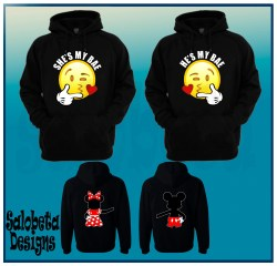 my my bae hoodies Mr and Mrs mr and mrs pullover Mickey and minnie mr and mrs disney couple sweaters Disney couple photo