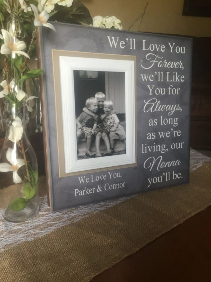 I Love You Forever Picture Frame | Yokwallpapers.com