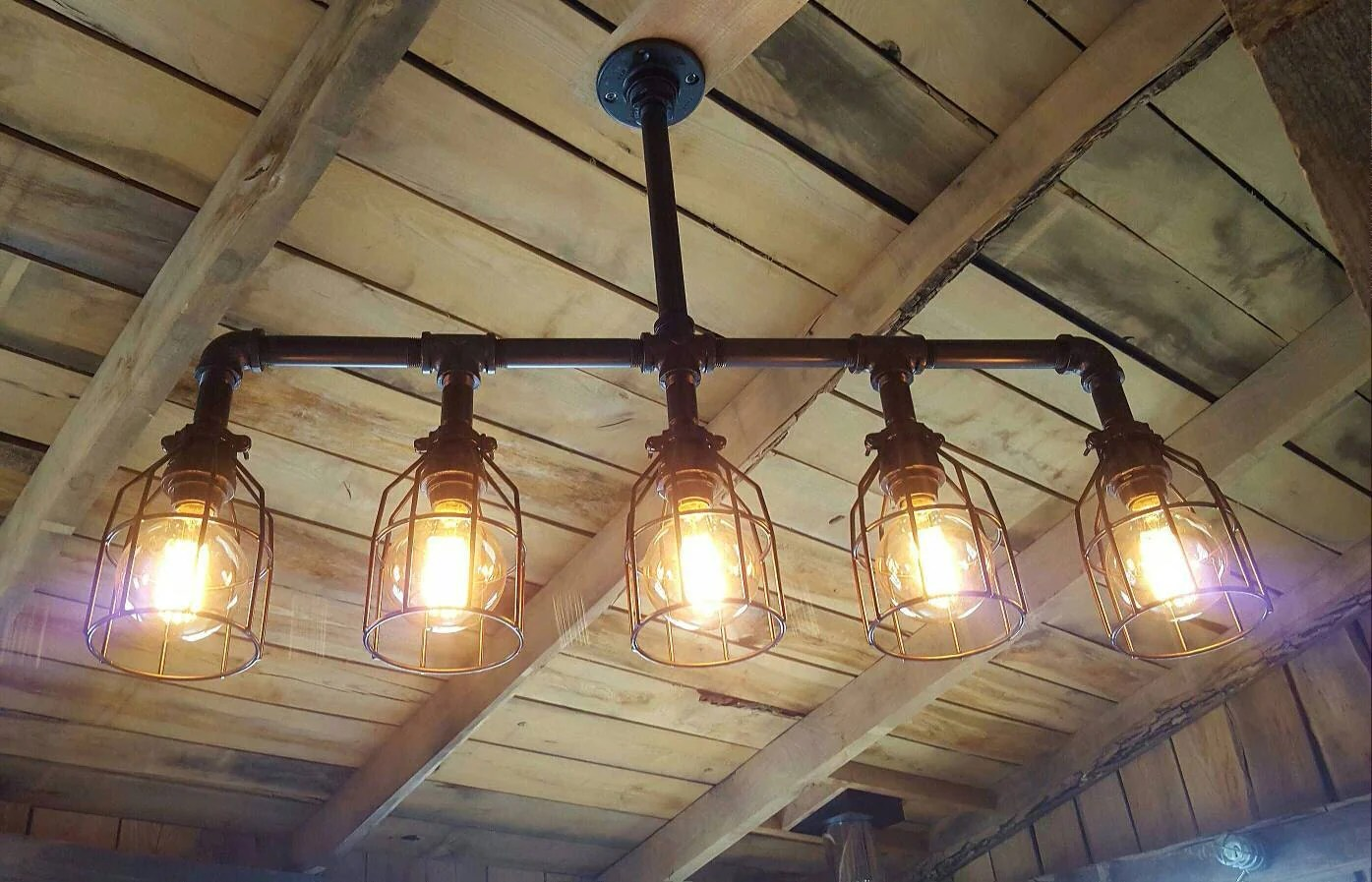 industrial lighting industrial kitchen light fixtures Rustic Industrial Lighting Chandelier Edison Bulb Iron Pipe Ceiling Light Modern Industrial Farm House Chandelier FREE SHIPPING