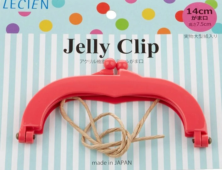 """Jelly Clip - Hot Pink - 5.5"""""""