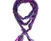 Purple Scarf, Fringe Scar...
