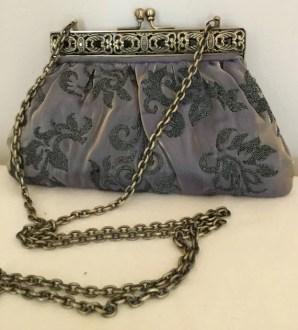 Vintage Evening Clutch Bag - By Franchi