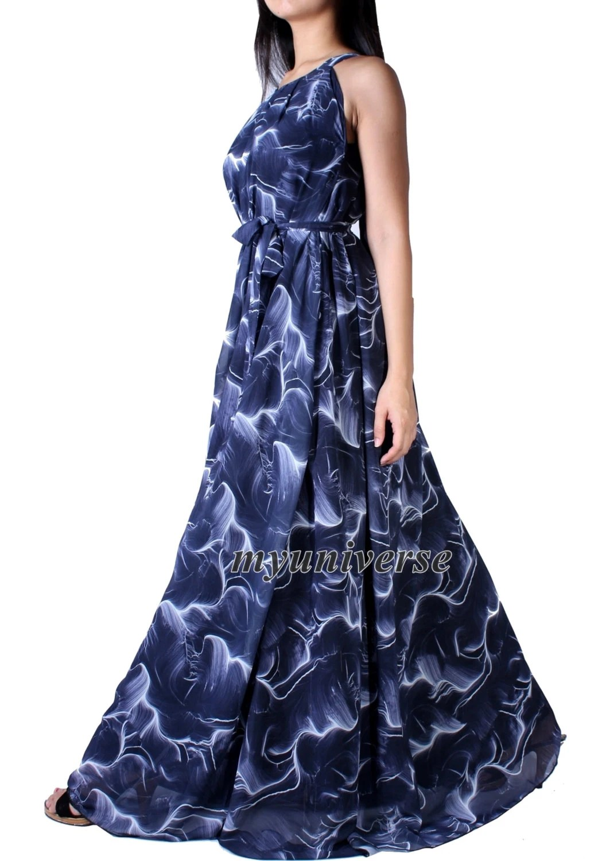 grey wedding dress blue wedding dresses Party Dress Maxi Dress Full Length Evening Gown Dress Extra Long Plus Size Dresses Clothing Chiffon
