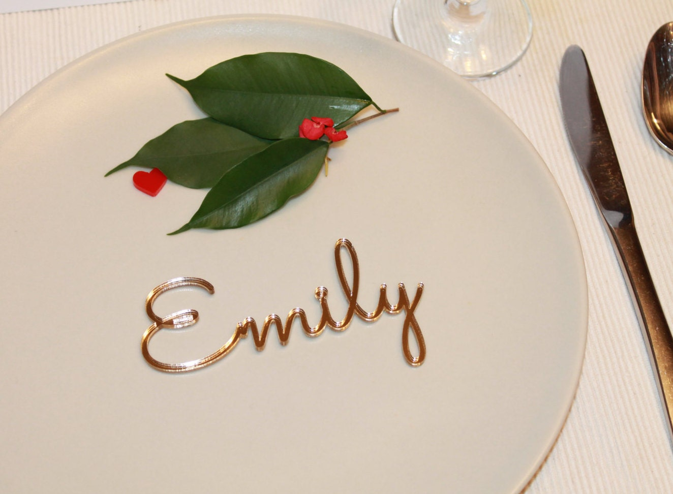place cards wedding place cards Personalized wedding place cards Laser cut names Wedding table place Guest names Weddings Laser cut name signs Place settings 02