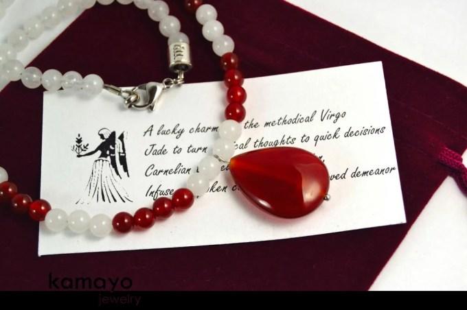 VIRGO NECKLACE - Carnelia...