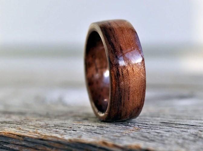 mens wedding ring guys wedding rings Wood Ring 5 Year Anniversary Wooden Ring Custom Wooden Ring Personalized Wood Ring Men Wood Ring Men Ring Mens Jewelry Tree Of Life Ring
