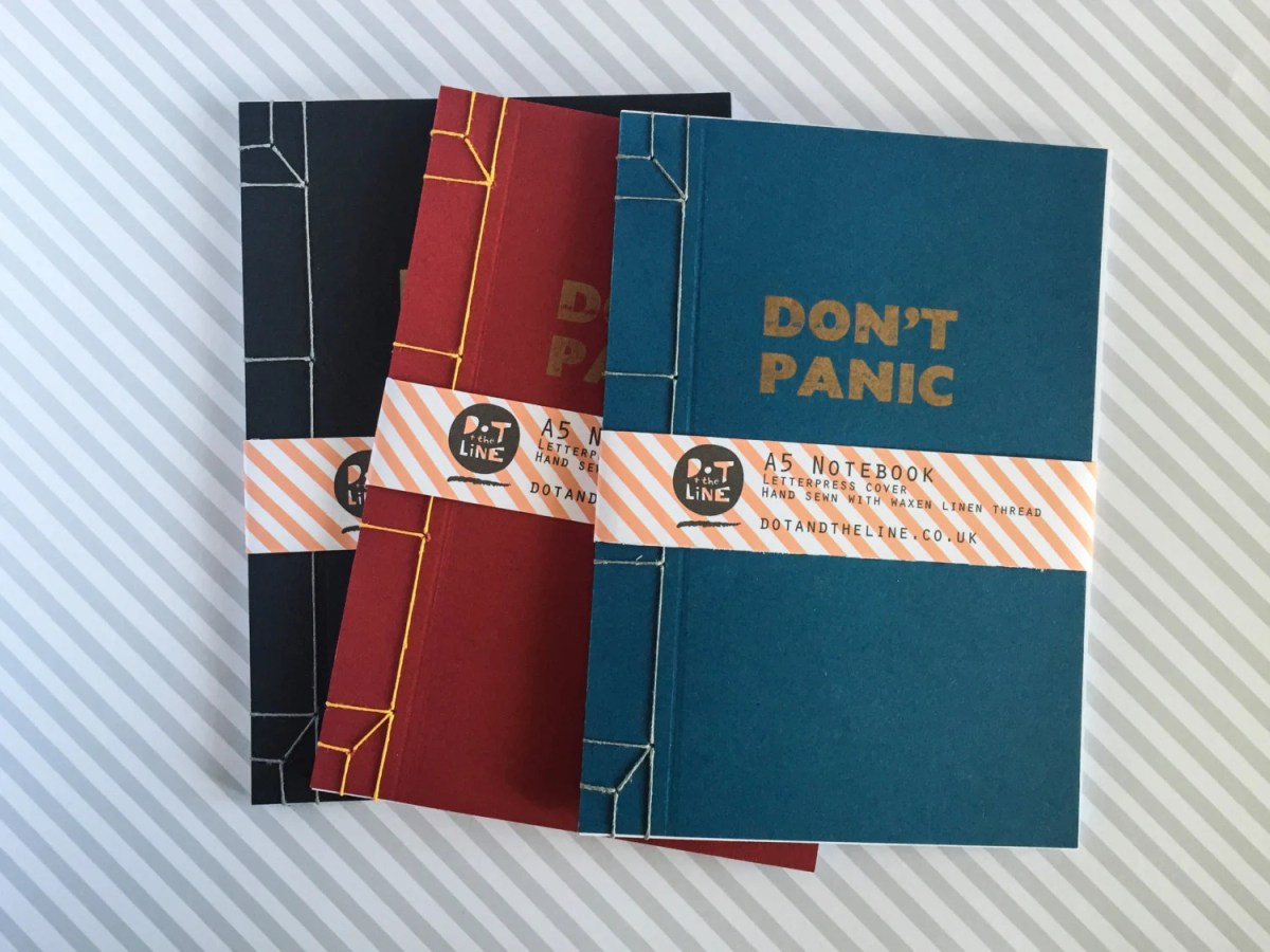 Don't Panic Notebook...