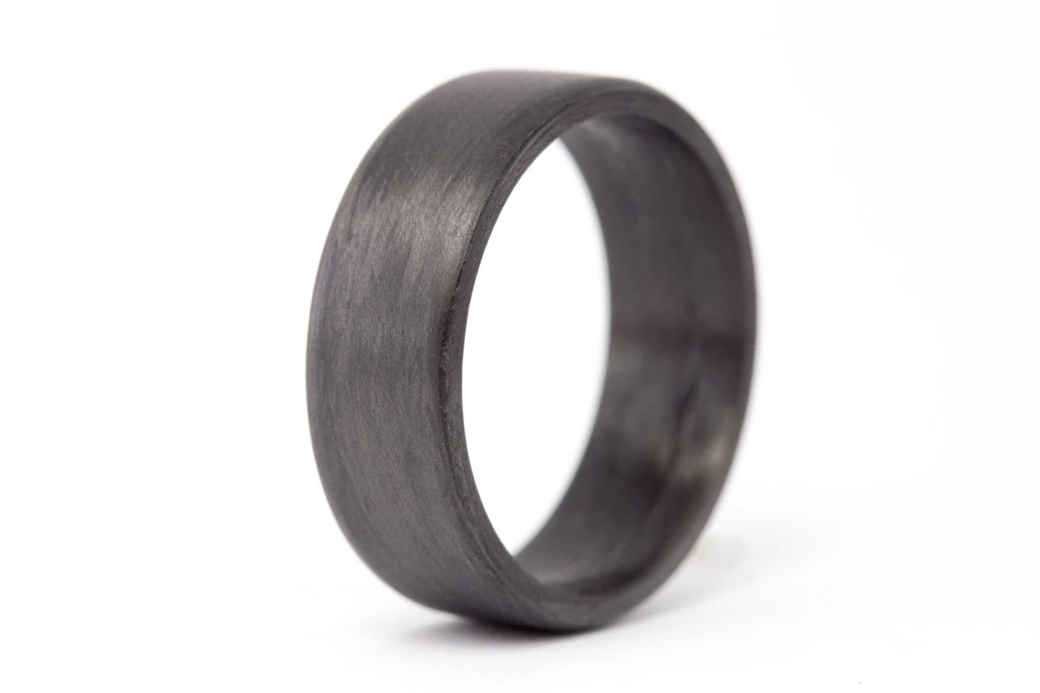 hypoallergenic rings mens batman wedding bands Men s carbon fiber flat ring Unique and instrial black wedding band Water resistant very durable and hypoallergenic 7N