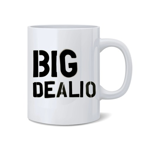 Medium Of Big Coffee Mug