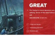 8.3分【IGN評分】《Fallout 4》【DLC】Far Harbor 異塵餘生4《輻射4》港灣驚魂