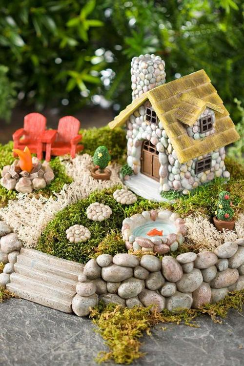 Lovable Miniature Fairy Garden Starter Kit Fairy Gardens To Bring Magic Into Your Home Sourn Fairy Garden Ideas Fairy Garden Items
