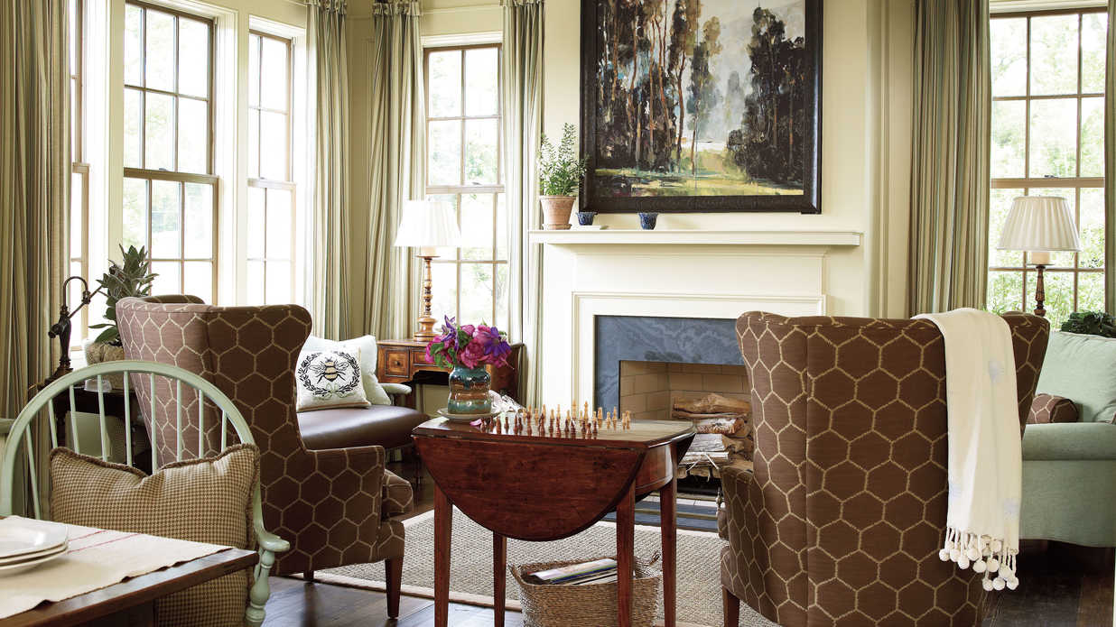 Regaling A House What Is Keeping Room Senoia Georgia Idea House Tour Sourn Living What Is A Keeping Room Beloved houzz-02 What Is A Keeping Room