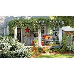 Soothing After Yard Makeovers That Will Make Your Jaw Drop Sournliving Before After Yard Makeovers That Will Make Your Jaw Drop Landscaping On Back Yard Landscaping Backyard Before A Mobile Home