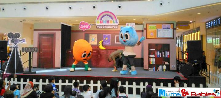 Gumball Darwin dancing